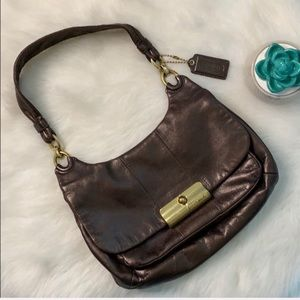 Coach | Kristin hobo bronze shoulder bag